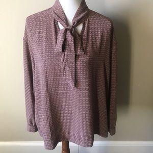 Rachel Zoe patterned blouse